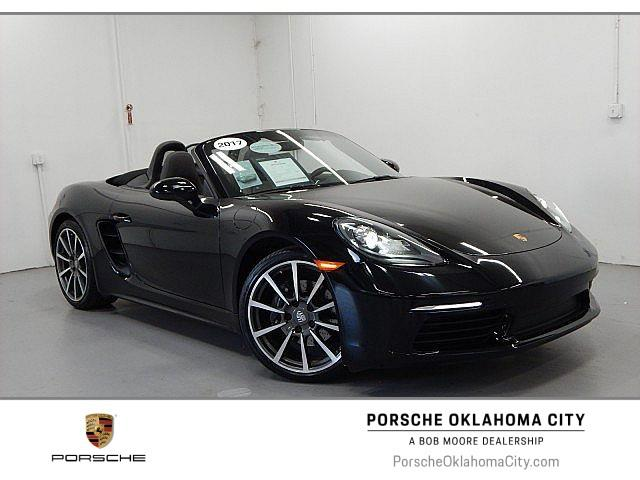 Certified Pre-Owned 2017 Porsche 718 Boxster Base